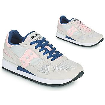 Skor Dam Sneakers Saucony SHADOW ORIGINAL Grå / Rosa / Blå