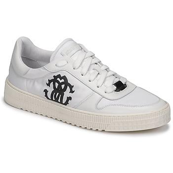 Skor Herr Sneakers Roberto Cavalli GEL Vit
