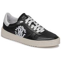 Skor Herr Sneakers Roberto Cavalli GEL Svart