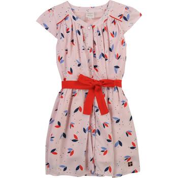 textil Flickor Korta klänningar Carrément Beau Y12246-44L Rosa