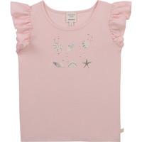 textil Flickor T-shirts Carrément Beau Y15378-44L Rosa