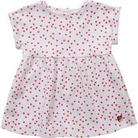 textil Flickor Korta klänningar Carrément Beau Y92119-10B Vit