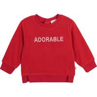 textil Flickor Sweatshirts Carrément Beau Y95256-992 Röd