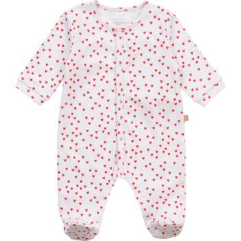 textil Flickor Pyjamas/nattlinne Carrément Beau Y97101-10B Vit