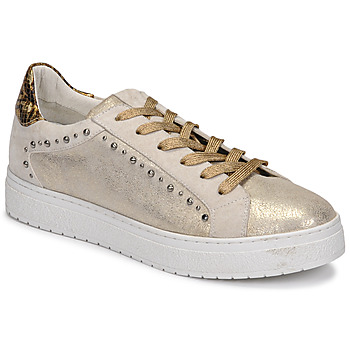 Skor Dam Sneakers Regard HAVRES Guldfärgad