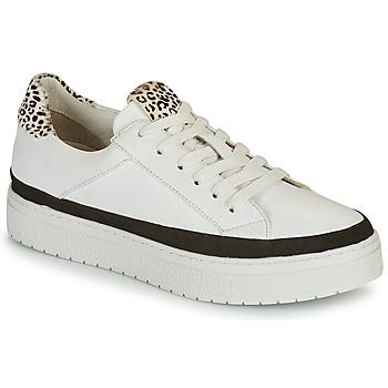 Skor Dam Sneakers Regard HENIN Vit / Svart