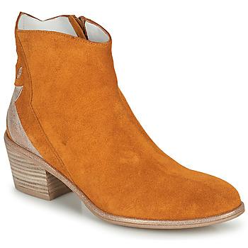 Skor Dam Boots Regard NEUILLY Brun