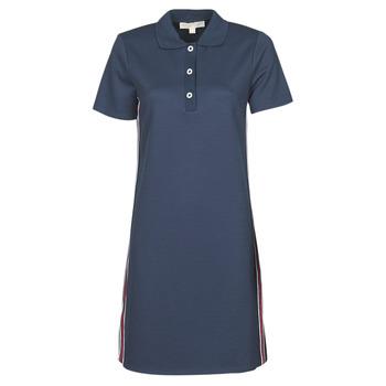 textil Dam Korta klänningar MICHAEL Michael Kors SS LOGO TAPE POLO DRS Marin