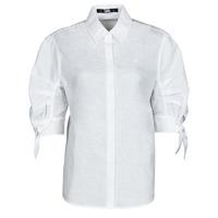 textil Dam Skjortor / Blusar Karl Lagerfeld LINENSHIRTW/BOWS Vit