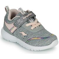 Skor Flickor Sneakers Kangaroos KY-CHUMMY EV Grå / Rosa