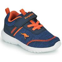 Skor Pojkar Sneakers Kangaroos KY-CHUMMY EV Blå / Orange