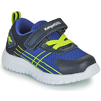 Skor Pojkar Sneakers Kangaroos KI-TWEE EV Blå / Grön