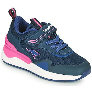 Skor Flickor Sneakers Kangaroos KD-GYM EV Blå / Rosa