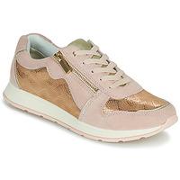 Skor Dam Sneakers Damart 64823 Krämfärgad