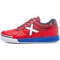 Skor Herr Sneakers Munich INDOOR 3111017 Röd