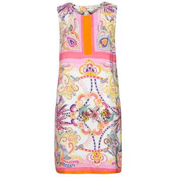 textil Dam Korta klänningar Derhy SEOUL Rosa / Flerfärgad