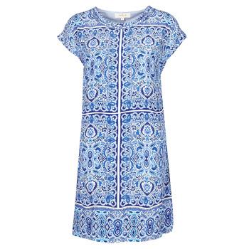textil Dam Korta klänningar Derhy STRESS Blå