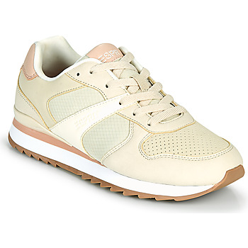 Skor Dam Sneakers Esprit AMBRO Beige / Rosa