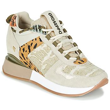 Skor Dam Sneakers Gioseppo PATERSON Beige / Kaki