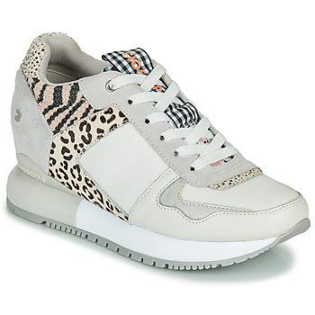 Skor Dam Sneakers Gioseppo OVERLAND Vit / Svart