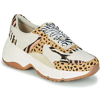 Skor Dam Sneakers Gioseppo FORMIA Vit / Leopard