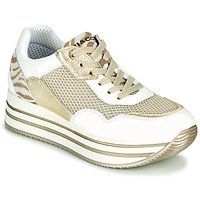 Skor Dam Sneakers IgI&CO ALMINTA Vit / Guldfärgad
