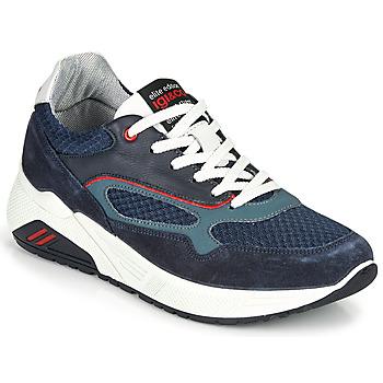 Skor Herr Sneakers IgI&CO COCULA Marin / Röd