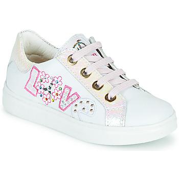 Skor Flickor Sneakers Pablosky AMME Vit / Rosa