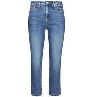 textil Dam Stuprörsjeans Pepe jeans DION 7/8 Blå