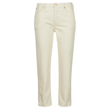 textil Dam Stuprörsjeans Pepe jeans DION 7/8 Benvit
