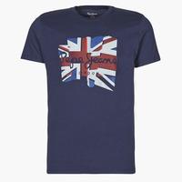 textil Herr T-shirts Pepe jeans DONALD Marin
