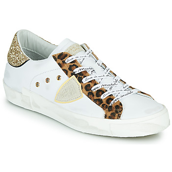 Skor Dam Sneakers Philippe Model PARIS Vit / Leopard