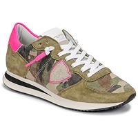 Skor Dam Sneakers Philippe Model TROPEZ X Kamouflage