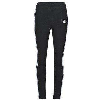 textil Dam Leggings adidas Originals 3 STR TIGHT Svart