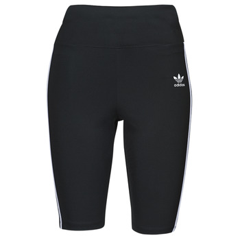textil Dam Leggings adidas Originals HW SHORT TIGHTS Svart
