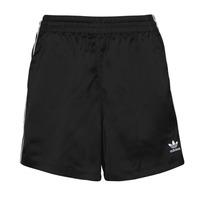textil Dam Shorts / Bermudas adidas Originals SATIN SHORTS Svart