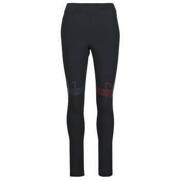 textil Dam Leggings adidas Originals TIGHTS Svart