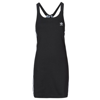 textil Dam Korta klänningar adidas Originals RACER B DRESS Svart