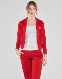 textil Dam Sweatjackets adidas Originals FIREBIRD TT PB Röd