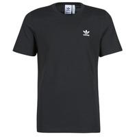 textil Herr T-shirts adidas Originals ESSENTIAL TEE Svart