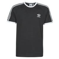 textil Herr T-shirts adidas Originals 3-STRIPES TEE Svart