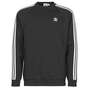 textil Herr Sweatshirts adidas Originals 3-STRIPES CREW Svart