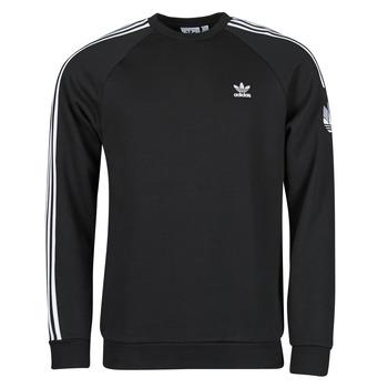 textil Herr Sweatshirts adidas Originals 3D TF 3 STRP CR Svart