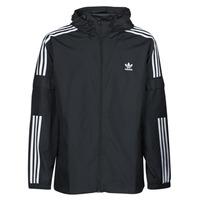 textil Herr Vår/höstjackor adidas Originals 3-STRIPES WB FZ Svart