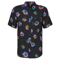 textil Herr Kortärmade skjortor Volcom PLEASURE CRUISE S/S Svart