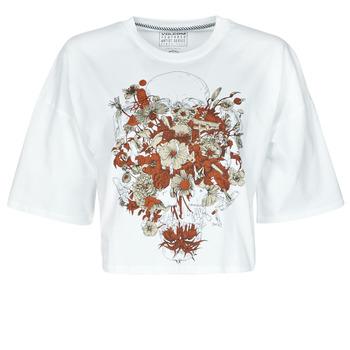 textil Dam T-shirts Volcom FA FORTIFEM TEE Vit