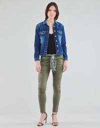 textil Dam Chinos / Carrot jeans Le Temps des Cerises LIDY Kaki