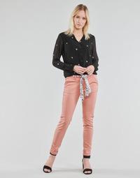 textil Dam Chinos / Carrot jeans Le Temps des Cerises LIDY Rosa