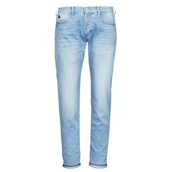 textil Dam Jeans boyfriend Le Temps des Cerises MACEL Blå