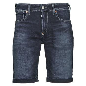 textil Herr Shorts / Bermudas Le Temps des Cerises JOGG BERMUDA Blå